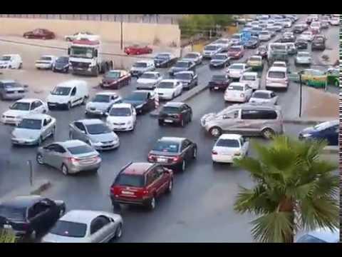 Amman Jordan heavy traffic