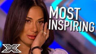 Video MOST INSPIRATIONAL Auditions EVER | X Factor Global download MP3, 3GP, MP4, WEBM, AVI, FLV Juni 2018