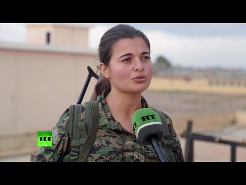 Курдские женщины сражаются