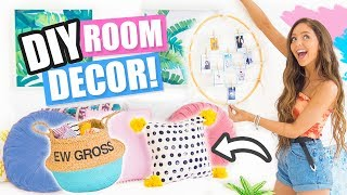 DIY ROOM DECOR 2017!! Easy & Affordable Ideas Inspired by Pinterest!