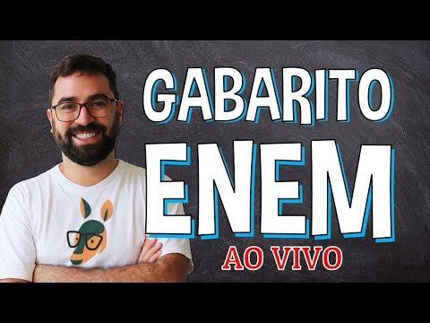 GABARITO ENEM - AO VIVO | Prof. Gui