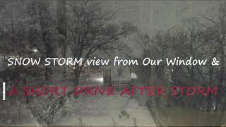 Hi all, It's me Harini. We took a video of Snow Storm from our window sides. Also we went a drive to see how the snow accumulate after the storm. Those are for ...