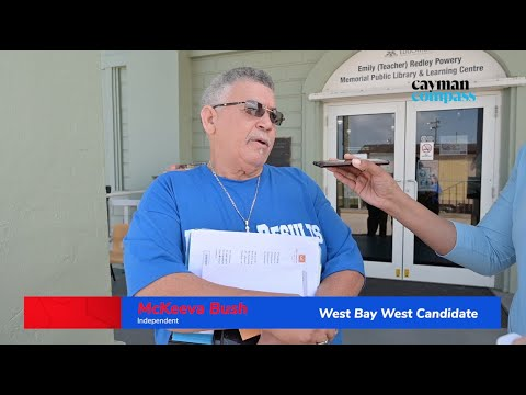 McKeeva Bush, incumbent candidate for West Bay West