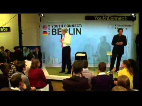 Secretary Kerry Delivers Remarks at Youth Connect: Berlin