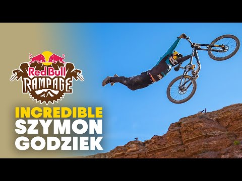 Szymon Godziek's Unbelievable Runs   Red Bull Rampage 2019