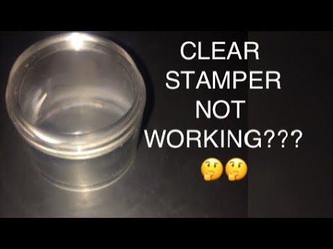 Clear Stamper Not Working/How to Prime Clear Stamper/BeautyBeam86