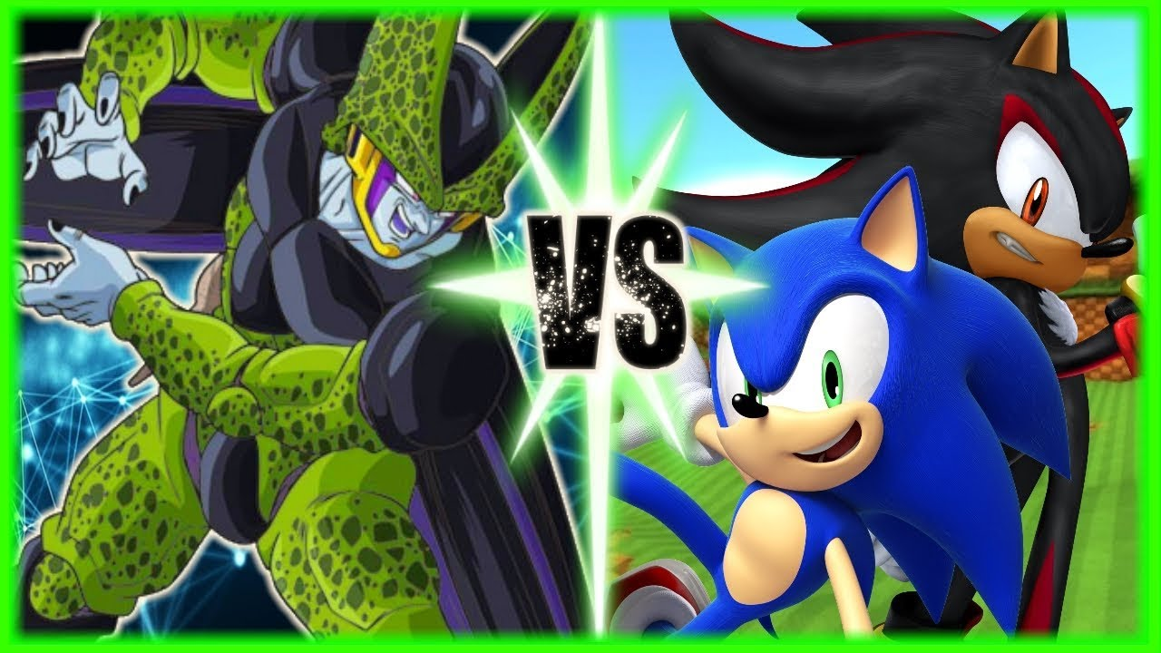 perfect-cell-vs-shadow-and-sonic