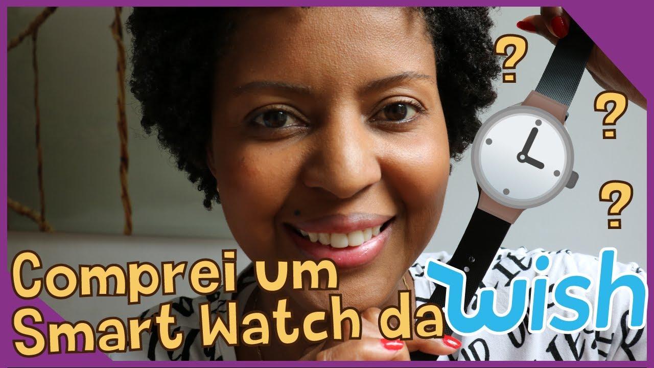 Smartwatch da Wish 😍