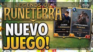 ¡GAMEPLAY LEGENDS OF RUNETERRA! NUEVO JUEGO DE RIOT GAMES! Video