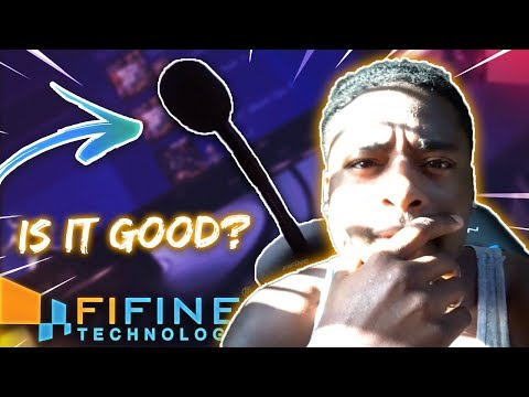 RECORDING WITH THE FIFINE MINI GOOSENECK MICROPHONE! IS IT GOOD?(BEST BUDGET FRIENDLY MIC?)