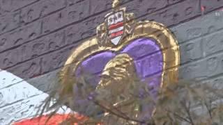 Artist Paints Mural for Veterans