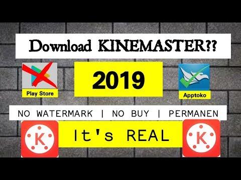 Tutorial Mendownload KINEMASTER PRO NO Watermark SECARA GRATISS!!