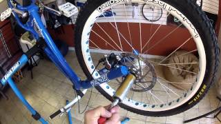 how to install pegs on a trials bike