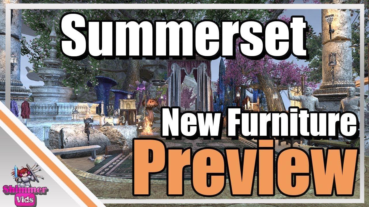 Merveilleux ESO: New Summerset Furniture Preview