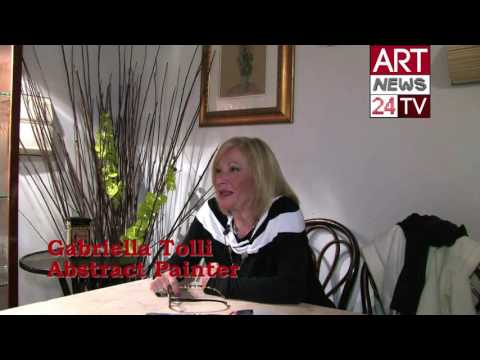 FAMOUS ABSTRACT ART PIECES: Gabriella Tolli and History of Abstract Art