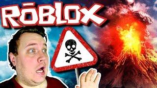 JEG OVERLEVEDE ET VULKANUDBRUD! :: Vercinger i Roblox Dansk