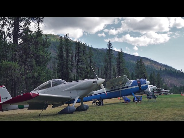 Flying and Camping in the Idaho Backcountry - Sept. 2019