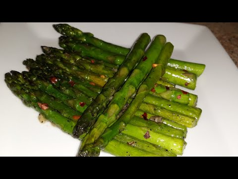 HOW TO COOK ASPARAGUS ON THE STOVE || EASY ASPARAGUS RECIPE