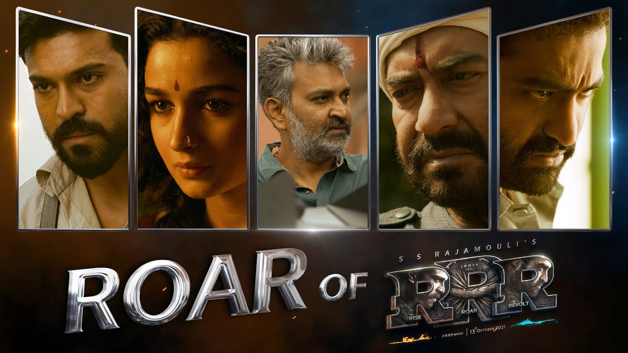 Download Roar Of RRR - RRR Making | NTR, Ram Charan, Ajay Devgn, Alia Bhatt | SS Rajamouli
