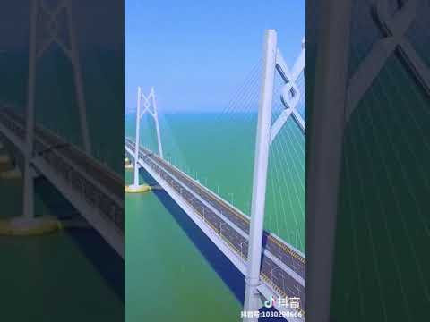 The #HongKong-#Zhuhai-#MacaoBridge open to traffic today!