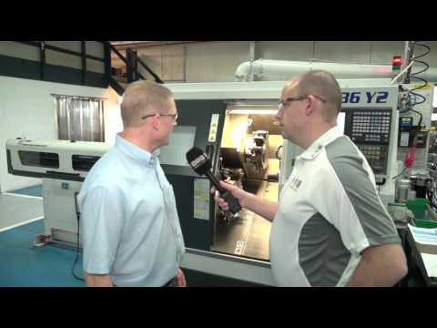 Morris Engineering install a 3 turret, 3 Y axis Biglia turning centre