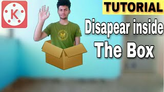 Disappear inside the box Kinemaster tutorial   learn video editing in English