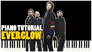 Coldplay - Everglow (Piano Tutorial Synthesia)