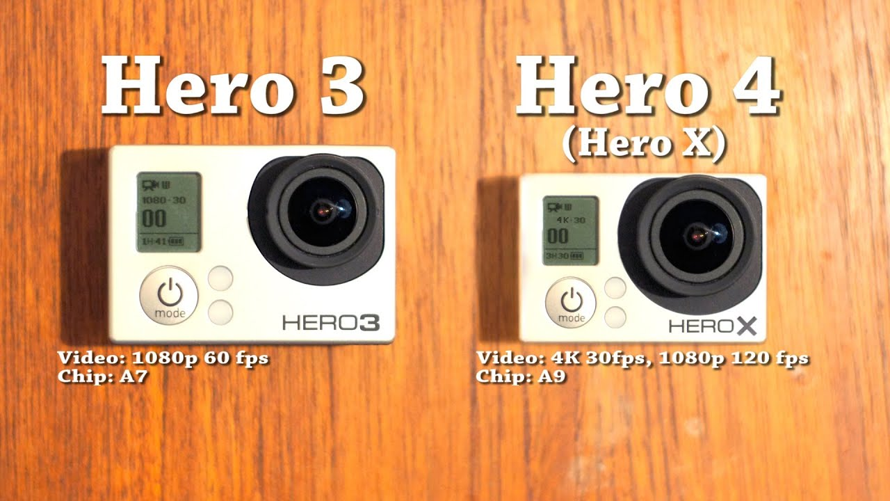 gopro hero 4 prototype hero x vs hero 3 youtube. Black Bedroom Furniture Sets. Home Design Ideas