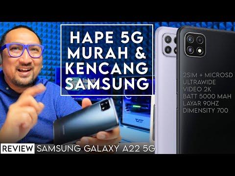 5G Murah, Kencang, dgn Kamera Ultrawide: Review Samsung Galaxy A22 5G