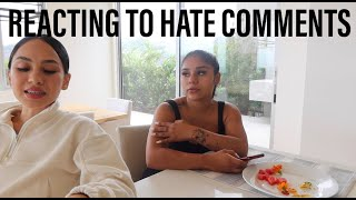 HER REACTION TO HATE COMMENTS / AT HOME 90 DAY FAT LOSS TRANSFORMATION / EPISODE #15