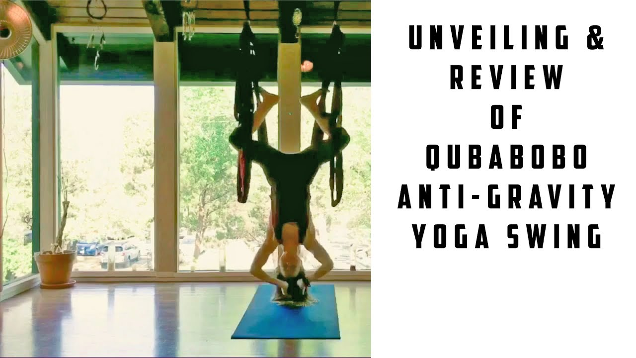 Unveiling Review Of Qubabobo Anti Gravity Yoga Swing Inversion