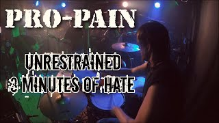 "Pro-Pain - ""Unrestrained & Three Minutes of Hate"" (Live)"