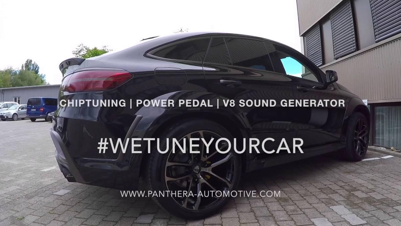 mercedes gle coupe diesel mit v8 sound generator youtube