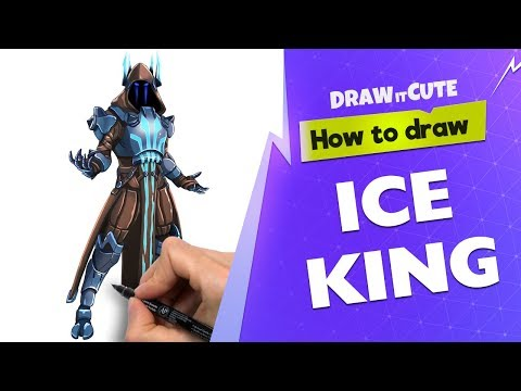 Download How To Draw Ice King Fortnite Season 7 Drawing Tutorial