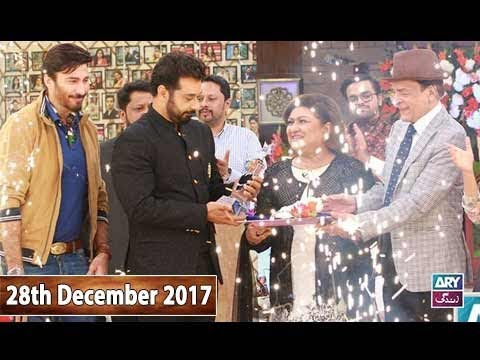 Salam Zindagi With Faysal Qureshi - Qavi Khan & Aijazz Aslam - 28th December 2017