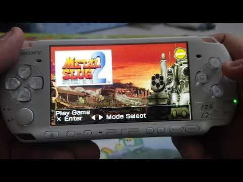 METAL SLUG 2   PSP GAME  