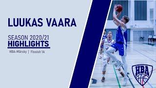 Luukas Vaara Season 2020-21 Highlights