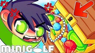 World's Worst *RAGE* quit in Mini Golf!