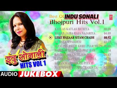 BEST OF INDU SONALI BHOJPURI HITS Vol.1 | BHOJPURI AUDIO SONGS JUKEBOX |T-Series HamaarBhojpuri
