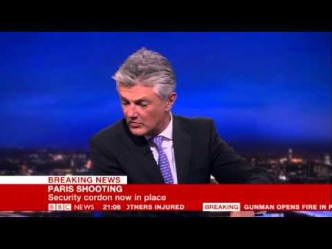 BBC Breaking News - 13/11/15 Paris Terror Attacks part 1 (9pm to 9:15pm)