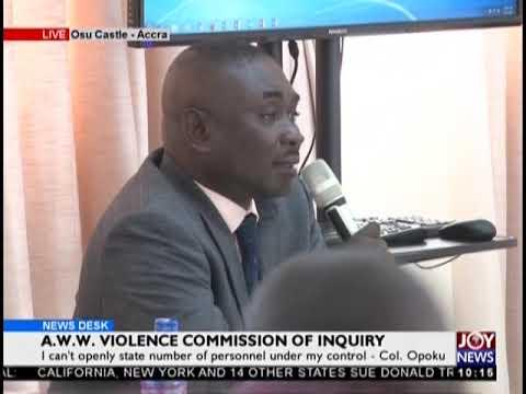 Director of Operations, National Security Secretariat Gives Testimony - JoyNews (20-2-19)