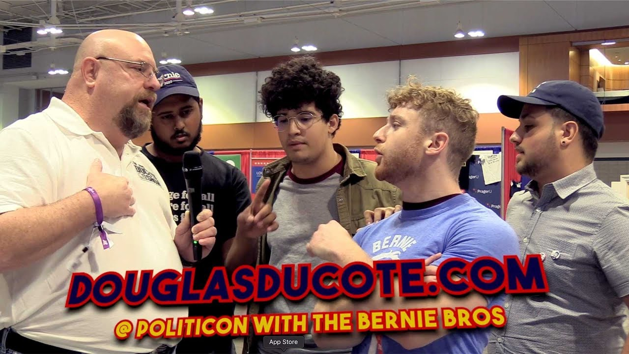 Shocking What Happened Next, Confronting Socialist Supporters
