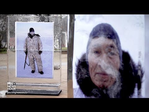 Photojournalist Louie Palu's portraits literally melted