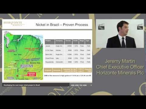 Horizonte Minerals Investor Presentation 16th May 2012