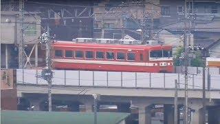 【東武1800系 1819F ラストラン直前、最後の団体臨時⑤】東武1800系 1819F 模型のような風景 足利市~野州山辺駅間 撮影 歌になった渡良瀬橋も。