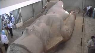 エジプトの旅 2 「ギザのピラミッドとメンフィスの遺跡」