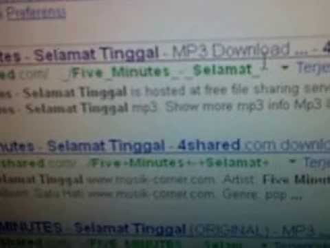 Cara Download lagu MP3 dari 4Shared