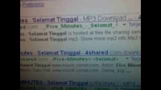 Cara Download lagu MP3 dari 4Shared