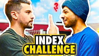 INDEX CHALLENGE 👆 (Ft. @Mastu )