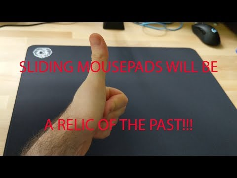 Easy sliding mouse pad life hack (tutorial) (Ft.  Artisan Hayate)